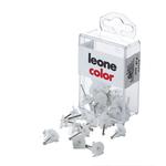 Ganci Blitz con spilli - 12/16 mm - bianco trasparente - Molho Leone - conf. 20 pezzi