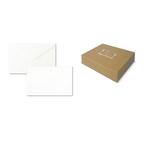 Scatola 100biglietti bianchi 240gr f.to 4 69x106mm bristol sadoch