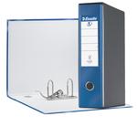 Registratore Eurofile G55 - dorso 8 cm - protocollo 23x33 cm - blu metallizzato - Esselte