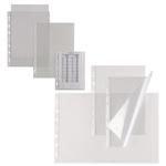 Buste forate Atla T - pesante - liscio - 15x21 cm - trasparente - Sei Rota - conf. 25 pezzi
