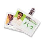 Pouches per plastificazione - badge - 67x99 mm - 2x125 micron - GBC - conf. 100 pezzi