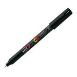 Marcatore a base d\acqua Uni Posca Pen PC1M - punta extra fine 0,7mm - nero  - Uni Mitsubishi
