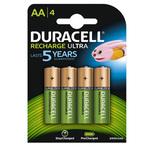 Pile AA ricaricabili - 2500 mAh - Duracell Precharged - blister 4 pezzi