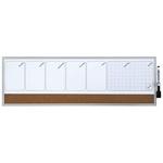 Organizer magnetico con calendario settimanale - 58,5x19 cm - orizzontale - Nobo