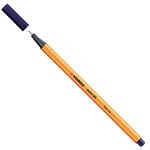 Fineliner Point 88 - tratto 0,4mm - blu notte - Stabilo