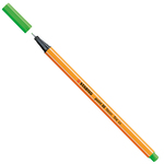 Fineliner Point 88  - tratto 0,4mm - verde fluo - Stabilo
