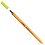 Fineliner Point 88  - tratto 0,4mm - giallo neon - Stabilo