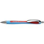 Penna a sfera a scatto Slider Rave - punta XB - rosso  - Schneider