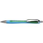 Penna a sfera a scatto Slider Rave - verde - punta XB - Schneider