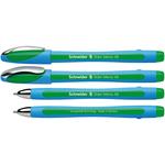 Penna a sfera Slider Memo - verde - punta XB - Schneider