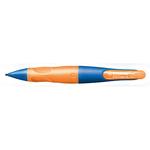 Portamine Easyergo - 1,4mm + 3 mine - per destromani - ultramarine/orange - Stabilo