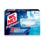 Tavoletta Profumoso Ocean Fresh - WC NET - 4 gabbiette da 34 g