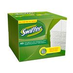 Ricarica Swiffer Dry - bianco - Swiffer - conf. 40 pezzi