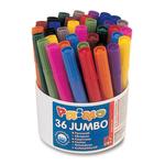Secchiello 36 pennarelli Jumbo - superlavabili - Primo