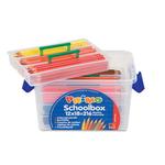 Matite colorate - mina 2,9mm - 12 colori - Primo - Valigetta 216 matite colorate