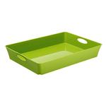 Vassoio multiuso 26,4x21,2xh6cm verde living