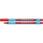 Penna a sfera Slider Edge  - tratto XB - rosso - Schneider