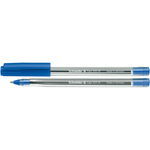 Penna a sfera con cappuccio Tops 505  - tratto 0,7mm - blu - Schneider