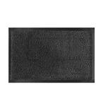 Zerbino asciugapassi Nevada - 90x120 cm - grigio antracite - Velcoc