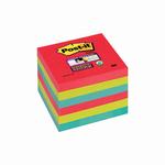 Blocco foglietti Post it® Super Sticky - colore Bora Bora - 76 x 76 mm - 90 fogli - Post it®
