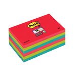 Blocco 90foglietti post-it®super sticky 76x127mm 655-6ss-jp bora bora