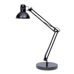 Lampada da tavolo Architect - 42x39 cm - base diametro 20 cm - a fluorescenza - 11W - nero - Alba