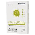 Carta riciclata al 100% senza legno - A4 - 80 gr - bianco - Steinbeis - conf. 500 fogli