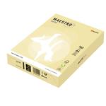 Carta Maestro Color - A4 - 160 gr - giallo tenue YE23 - Mondi - conf. 250 fogli