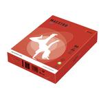 Carta Maestro Color - A4 - 80 gr - rosso forte CO44 - Mondi - conf. 500 fogli
