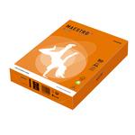 Carta Maestro Color - A4 - 210 x 297mm - 80gr - arancio forte OR43 - Mondi - conf. 500fg