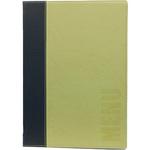 Portamenù Trendy - A5 - 18x25 cm - verde - 1 inserto doppio incluso - Securit