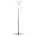 Espositore da pavimento Duraview® Stand - cornice magnetica - A4 - Durable
