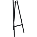 Cavalletto in legno nero - altezza 165 cm - Securit