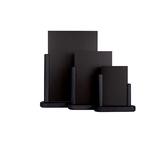 Lavagna da tavolo Elegant - A5 - 20x23x6 cm - nero - Securit