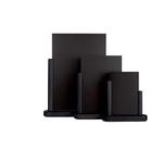 Lavagna da tavolo Elegant - A6 - 15,5x17x5 cm - nero - Securit