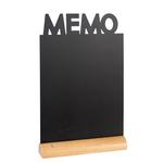 Lavagna da tavolo \memo\ silhouette securit