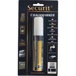 Marcatore a gesso liquido - punta maxi da 7,00-15,00mm - bianco - Securit