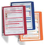 Leggio da parete Vario® Wall 5 - 5 pannelli Sherpa® inclusi - rosso - Durable