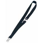 Cordoncini portabadge - larghezza 20 mm - nero - Durable - conf. 10 pezzi
