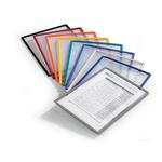 Pannelli di ricambio Sherpa® per leggii Vario® - rosso - Durable - conf. 5 pezzi