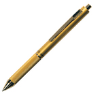 Penna a sfera a scatto multifunzione - fusto oro - Osama