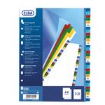 Separatore numerico 1/31 Elba - tacche colorate - PP - A4 - Favorit
