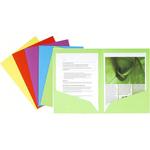 Cartelline a doppia tasca Rock\s - cartoncino 220 gR - 24x32 cm - mix 5 colori - Exacompta - conf. 25 pezzi