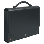 Classificatore Exacase - 13 tasche - PP - 33x26 cm - nero - Exacompta