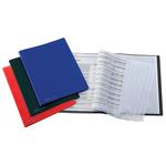 Portalistini Sviluppo - liscio - PP - 22x30 cm - 60 buste - blu - Favorit