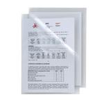 Cartelline a L Poli 150 - PPL - liscio - 21x29,7 cm - trasparente - Sei Rota - conf. 25 pezzi