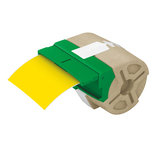 Nastro per Icon - 88 mm x 10 mt - plastica - permanente - giallo - Leitz