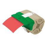 Rotolo plastica 10mt x 88mm rosso permanente icon leitz