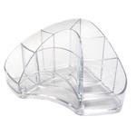 Portapenne Multipot Classic - 14x20x9 cm - trasparente - Arda