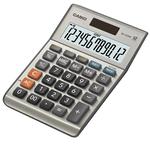 Calcolatrice da tavolo MS-120BM - 12 cifre - grigio - Casio